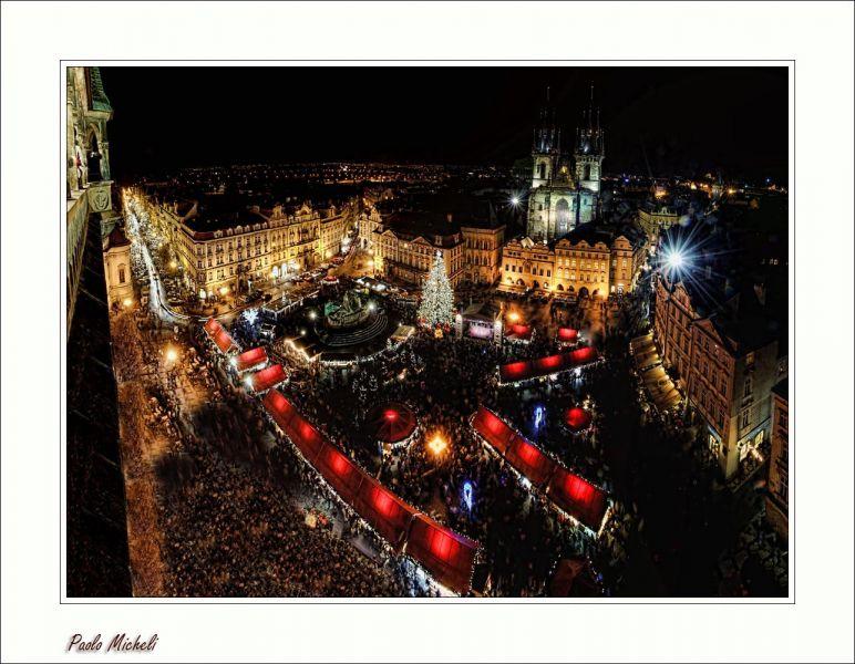 Christmas stalls