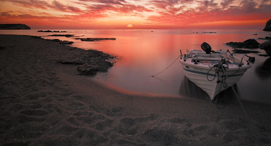 Kolymbia beach sunrise